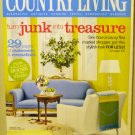 Country Living February 2005 back issue magazine turn junk into treasures AL1619