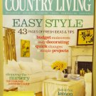 Country Living March 2005 back issue magazine budget quick makeovers AL1620
