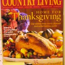 Country Living November 2005 back issue magazine Thanksgiving AL1627