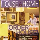 Canadian House and Home March 2004 back issue magazine Order in the house AL1635