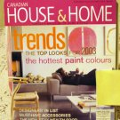 Canadian House and Home Dec 2002 Jan 2003 back issue magazine trends and paint AL1636