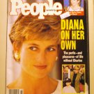 People Weekly April 12 1993 back issue magazine Diana on her own AL1639