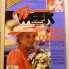 TV Week Magazine December 7 1985 back issue Princess Diana to open Expo 86 AL1650