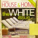 Canadian House and Home Summer 2003 back issue magazine The white issue AL1653