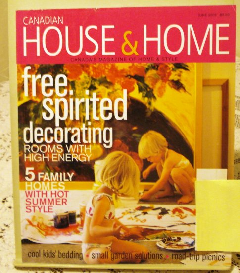 Canadian House And Home June 2003 Back Issue Magazine Free