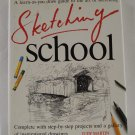 Sketching School A learn as you draw guide Judy Martin HB DJ used AL1706