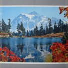 Mount Shuksan WA Standard Oil Co print photo Walt Dyke unframed mid 20th C vintage AL1717