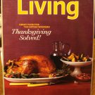 Martha Stewart Living magazine November 2008 Thanksgiving Great food for the weekend AL1788