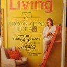 Martha Stewart Living magazine September 2008 75 Decorating ideas stencils bedrooms AL1794