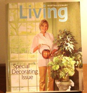 Martha Stewart Living magazine September 2009 AL1843