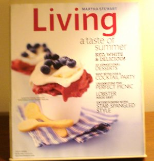 Martha Stewart Living magazine July 2009 Taste of Summer AL1846