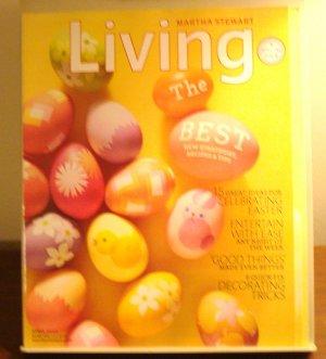 Martha Stewart Living magazine April 2010  AL1850