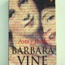 Asta's Book Barbara Vine paperback mystery family skeletons AL1859