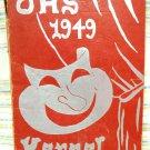 OHS Kernel Oxford Pennsylvania High school yearbook 1949 original  AL1501