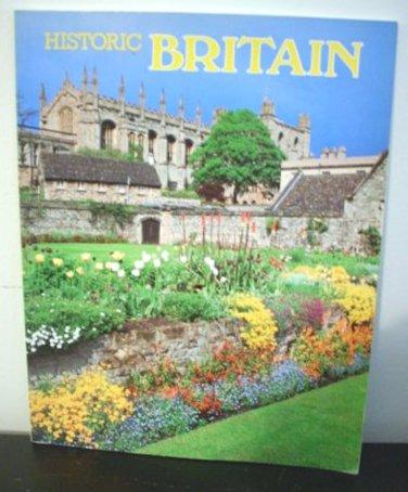 Historic Britain picture book soft cover 1985 AL1240