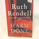 Ruth Rendell Harm Done an Inspector Wexford mystery 1st Vintage Crime PB edition AL1550