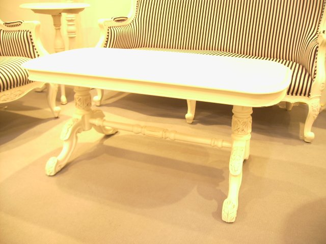 French Colonial Coffee Table