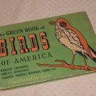 GREEN BOOK OF BIRDS OF AMERICA/ASHBROOK ILLUS/MOLLER