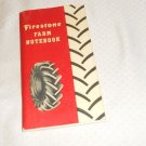 "FIRESTONE FARM NOTEBOOK 6 1/2"" X 3 1/2"" 1950 REVISED 1958"