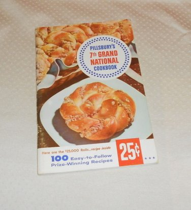 PILLSBURY BAKE-OFF COOKBOOK 100 PRIZE WINNING RECIPES 7th 1956