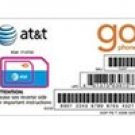 AT&T Go-Phone Prepaid Micro SIM Card for iPad Wi-Fi + 3G (TM) and iPhone 4