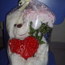 Bear with artificial flower (Ref: ST-003)