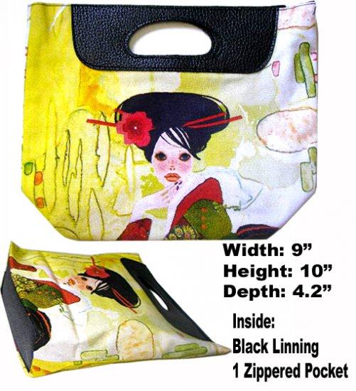 Classique Yellow Geisha Bag