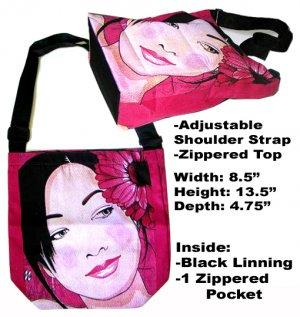 Classique Red Girl Sling Bag
