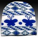 Classique Blue Children Beanie Hat