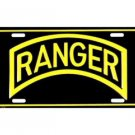 Ranger Metal License Plate - NEW! $3 shipping