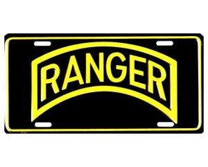 Ranger Metal License Plate - NEW! $3 shipping