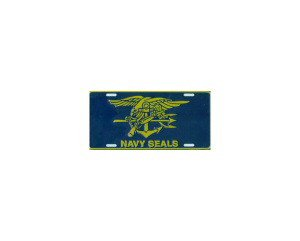 Navy Seals Metal License Plate - NEW! $3 shipping