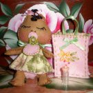 Blossom Baby 4 inch Felt Doll Pattern Pdf ormat