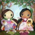 Cutie Pie Felt Doll Pattern Pdf