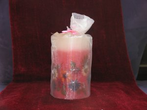 Candle in Pouch
