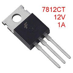 5 Positive 12V Liner Regulators, 7812, TO-220