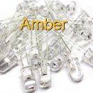 20 LEDs, Amber, High Output, 5mm T-1 3/4