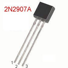 2 2n2907a Pnp 60v 0 6a To 92