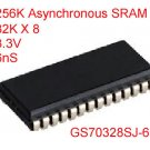 2PCS SRAM 32K X 8 3.3V 6nS 300Mil SOJ-28