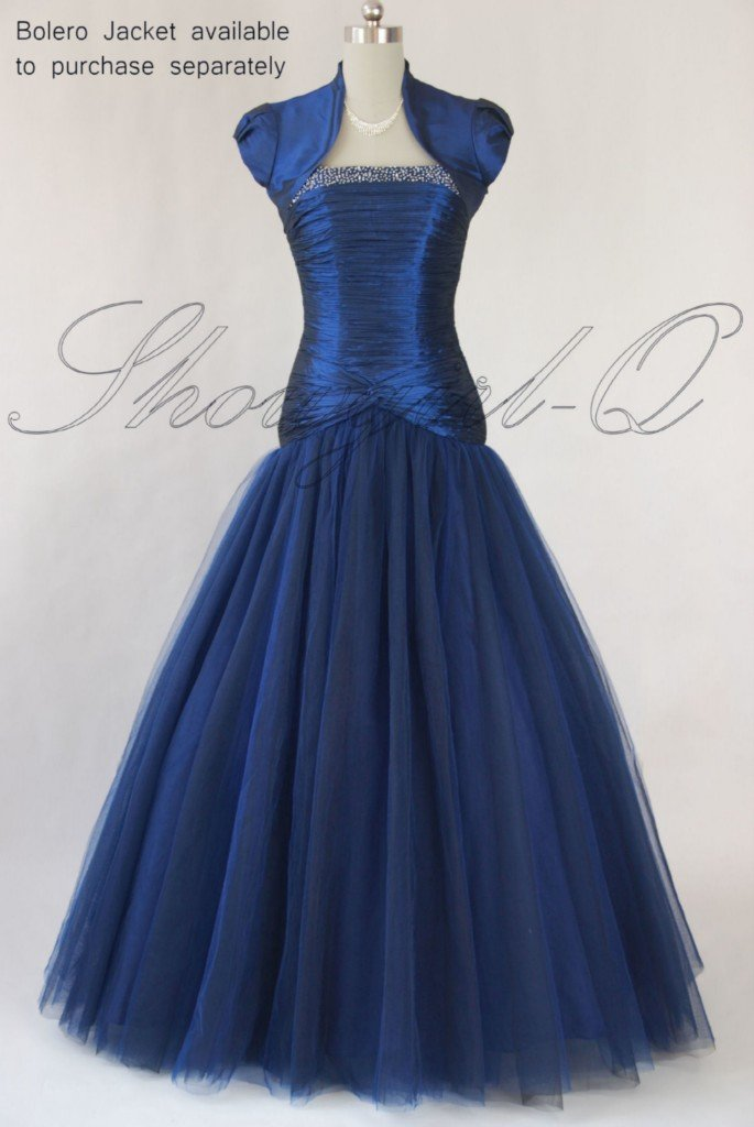5434 Evening Dress Prom Ball Gown 8 10 12 14 16 18 20