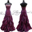 3608BU Evening Dress Prom Ball Gown 8 10 12 14 16 18 20