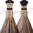 5425 EVENING DRESS PROM BALL GOWN CAPPUCCINO BRIDESMAID