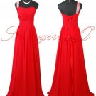 5246 RED DRESS PROM BALL GOWN 8 10 12 14 16 18 20