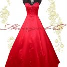 3499R EVENING PROM DRESS BALL GOWN 8 10 12 14 16 18 20