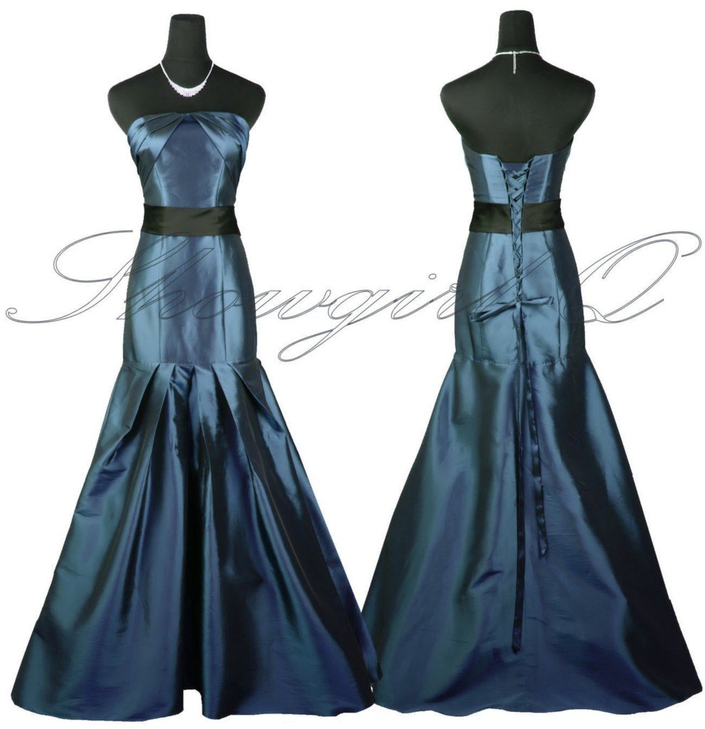 5425 EVENING DRESS PROM BALL GOWN 8 10 12 14 16 18 20