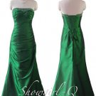 5269 Emerald Green Sequinned Bodice Evening Dress Prom Bridesmaid Homecoming