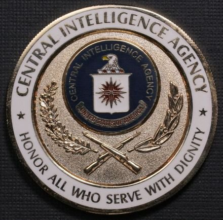 CIA Security Protective Service Challenge Coin