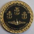 Submarine Squadron Twenty (CSS-20) Chief Petty Officer - CPO Challenge Coin