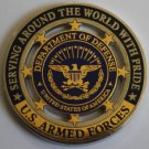 Department of Defense / US Armed Forces - Challenge coin.
