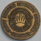42nd Infantry Division ARNGUS (Rainbow Division) Challenge Coin